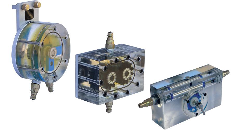 HD-203 Transparent Hydraulic Training System