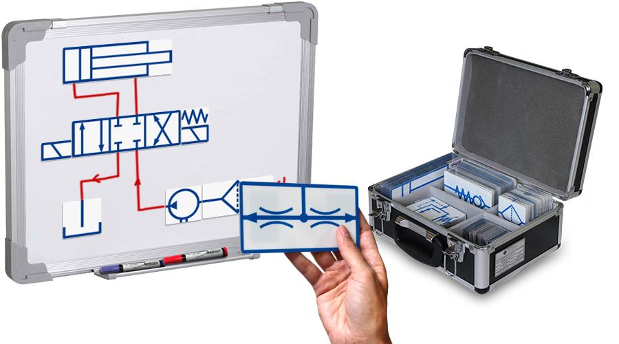 HD-901 Hydraulics Magnetic Symbol Set
